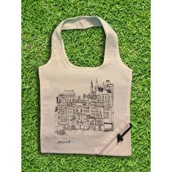 Prague Tote Bag, White