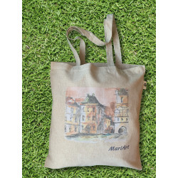 Old town square Tote Bag,...